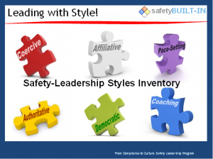 safety-leadership styles chart