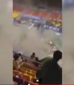 Ceiling Collapse at Badminton Tournament due to Lack of Safety Management Plan--Call to Action!